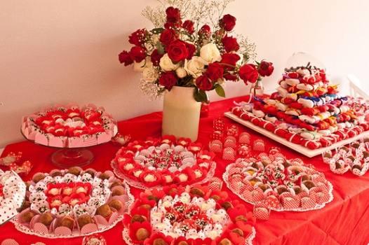 decoracao festa noivado:decoracao-para-festa-ou-jantar-de-noivado-6 – Dicas na Internet