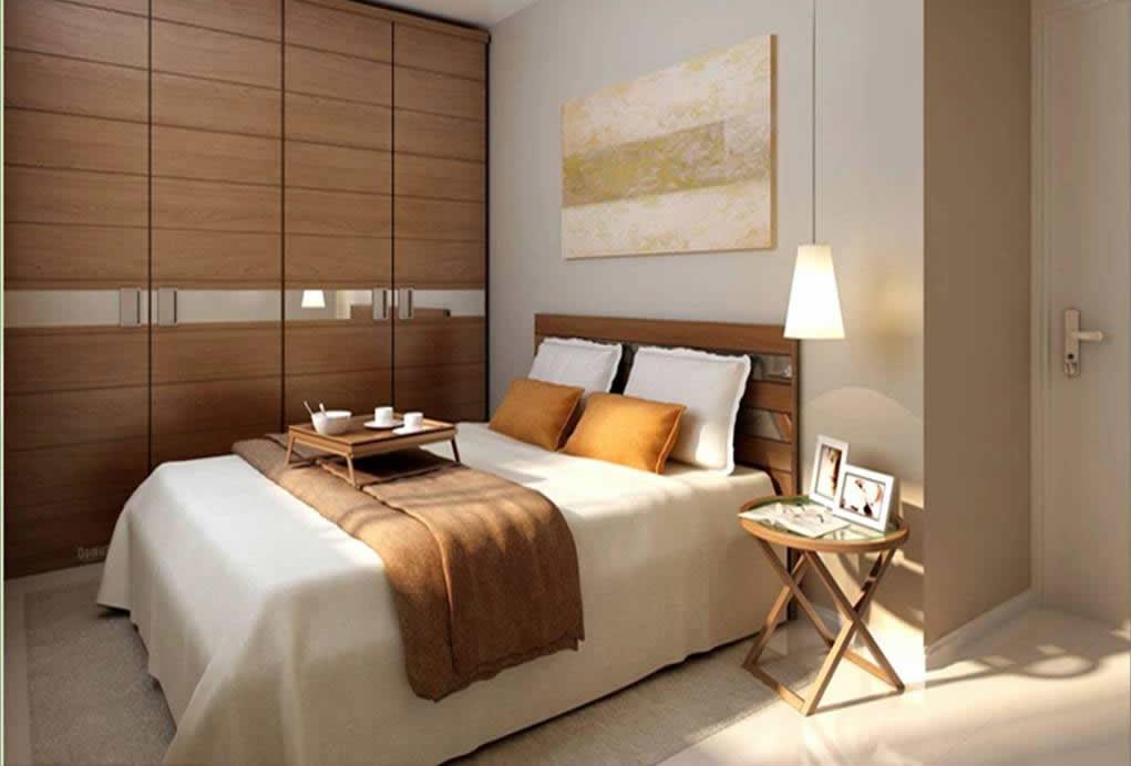 decoracao de interiores pequenos quartos : decoracao de interiores pequenos quartos:Decoração para Quarto de Casal Pequeno – Dicas e Fotos – Dicas na