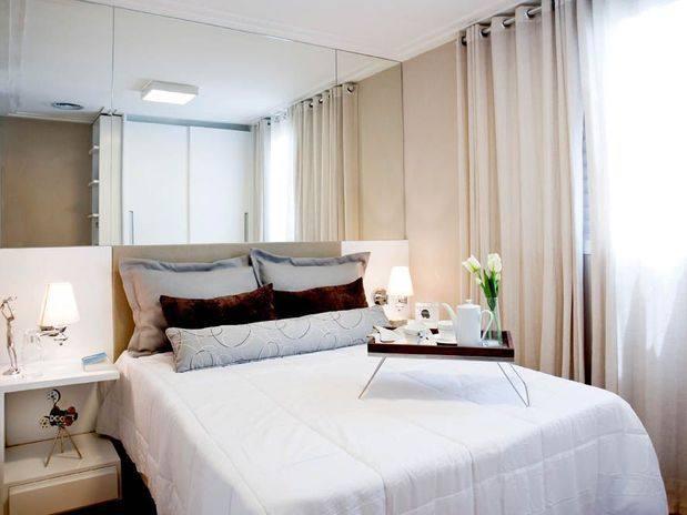 decoracao alternativa para quarto de casal:Decoração para Quarto de Casal Pequeno – Dicas e Fotos