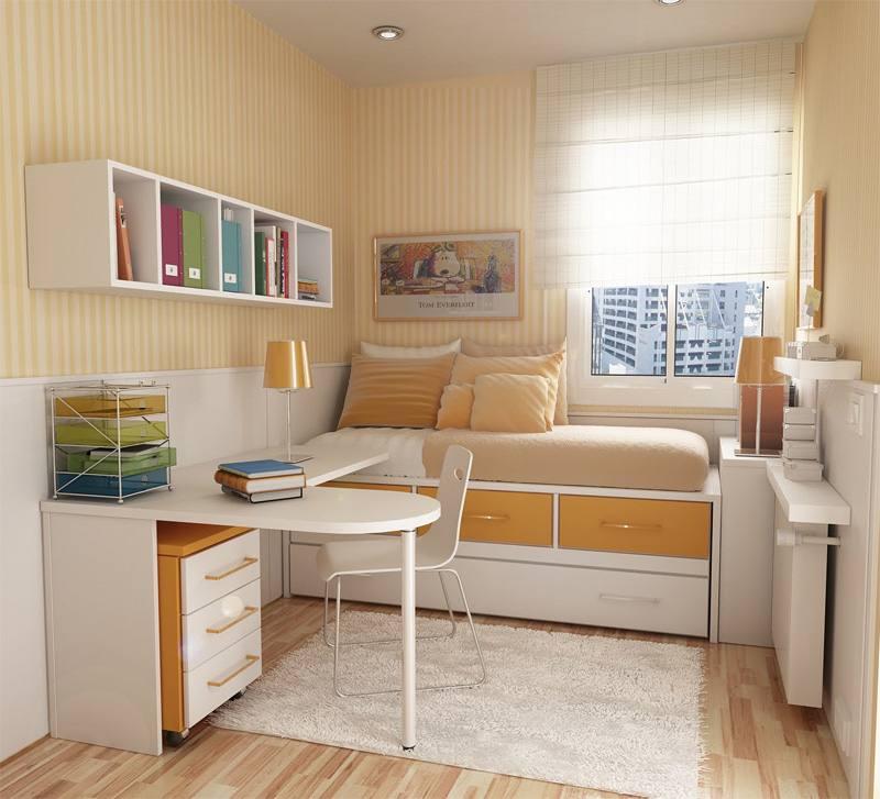 decoracao de apartamentos pequenos quartos : decoracao de apartamentos pequenos quartos:Decoração para Quartos Pequenos – Dicas e Fotos