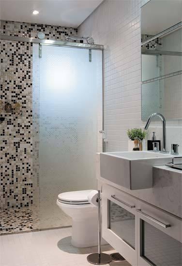 Dicas para Decorar Banheiros Pequenos -> Banheiro Pequeno Dicas