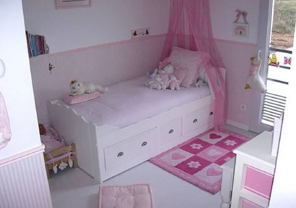 Decora o de quarto infantil dicas e fotos for Decoration chambre fille 3 ans