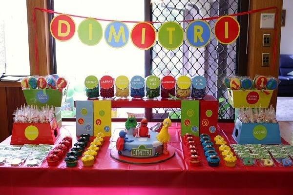 decoracao festa simples:invista numa decoração de festa de aniversário infantil simples