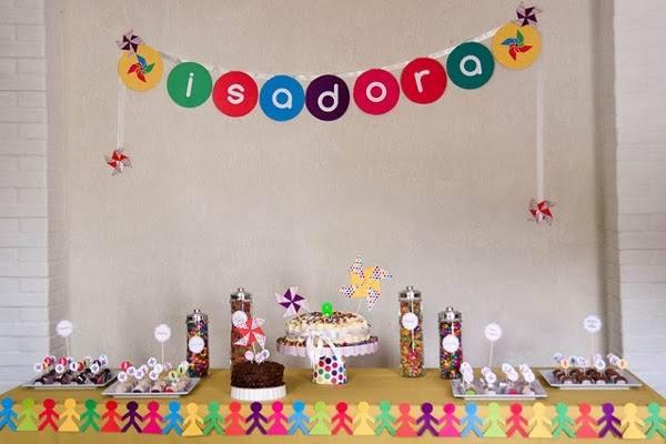 Decoraç u00e3o de Festa de Aniversário Infantil Sim