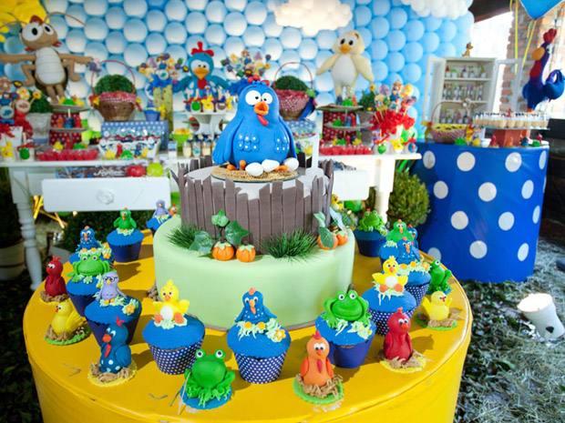 decoracao de festa de aniversario infantil Galinha Pintadinha 5 ...