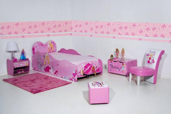 Quarto Decorado Infantil Da Barbie ~ Decora??o de Quarto Infantil da Barbie  Dicas e Fotos  Dicas na