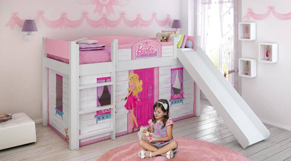 Quarto Decorado Infantil Da Barbie ~ decoracao de quarto infantil da Barbie 5  Dicas na Internet