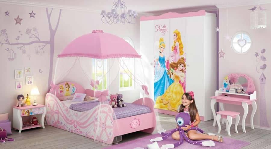 Decoração de Quarto Infantil da Barbie Dicas e Fotos