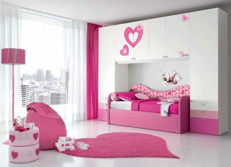 Decoração de Quarto Infantil da Barbie Dicas e Fotos  ~ Quarto Rosa Infantil
