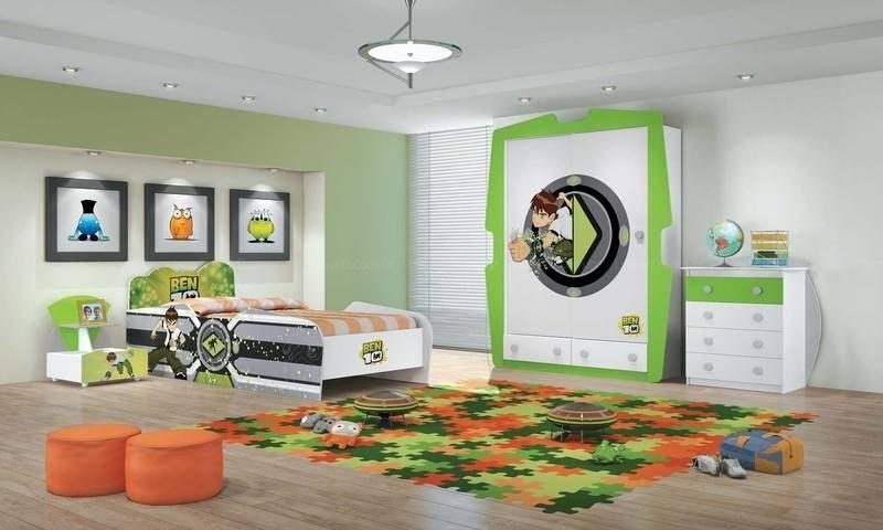 Dicas para decorar quartos de meninos fotos for Ben 10 bedroom ideas