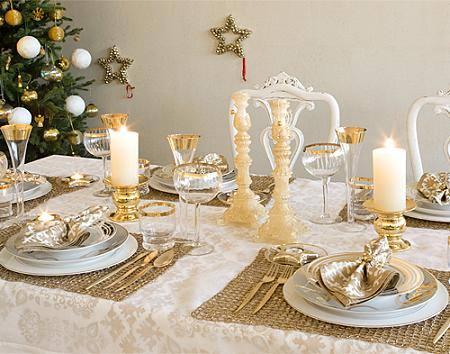 Decora o de mesa de natal dicas e fotos dicas na internet Mesas para navidad casa