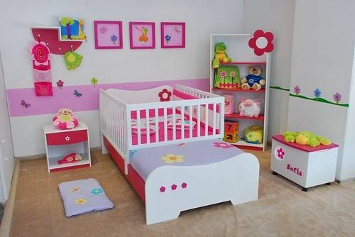 Decora o para quarto infantil pequeno dicas e fotos for Quadros dormitorio