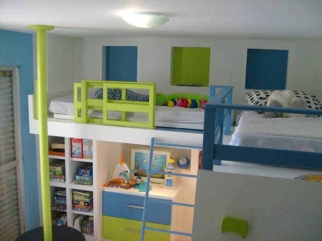 decoracao alternativa de quarto infantil: de decoração de quarto infantil para irmãos e dê a alegria de