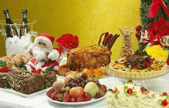 ceia de Natal menos calórica