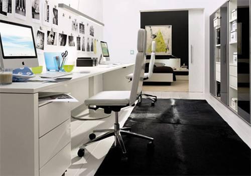 decora o para home office dicas e fotos dicas na internet. Black Bedroom Furniture Sets. Home Design Ideas
