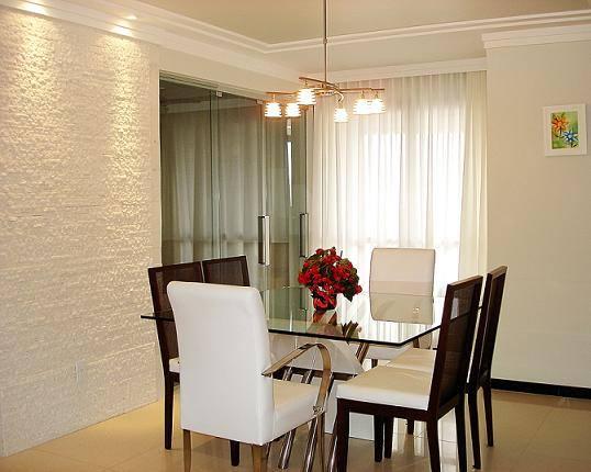 Sala De Jantar Com Vidro Na Parede ~ Depois de conhecer mais sobre os revestimentos de parede mais usados