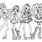 Desenhos para Imprimir e Colorir Monster High