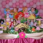 Decoração de Aniversário Infantil Tema Princesas da Disney – Dicas e Fotos