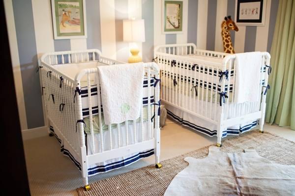Decora o de quartos de g meos dicas e fotos - Habitaciones para bebes gemelos ...