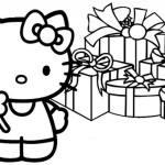 Desenhos da Hello Kitty para Imprimir e Colorir