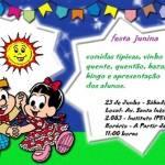 Modelos de Convites para Festas Juninas