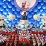 Decoração de Festa de Aniversário Infantil Marinheiro