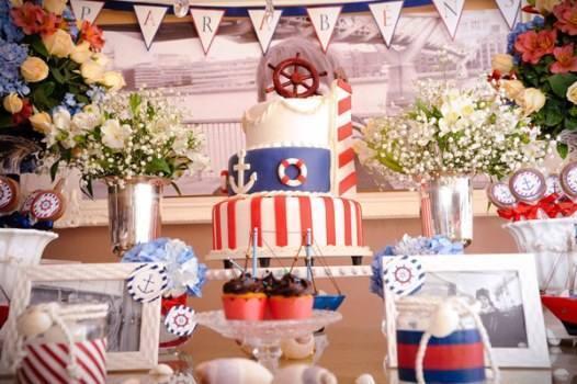 Decorao de festa de aniversrio infantil marinheiro dicas na leia tambm thecheapjerseys Image collections