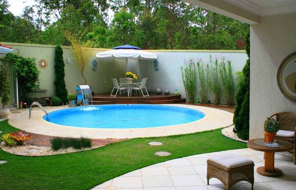 Modelos de piscinas simples para casa fotos dicas na for Piscinas para jardin baratas