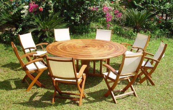 mesa jardim ombrelone:Modelos de Mesas para Jardim – Dicas na Internet