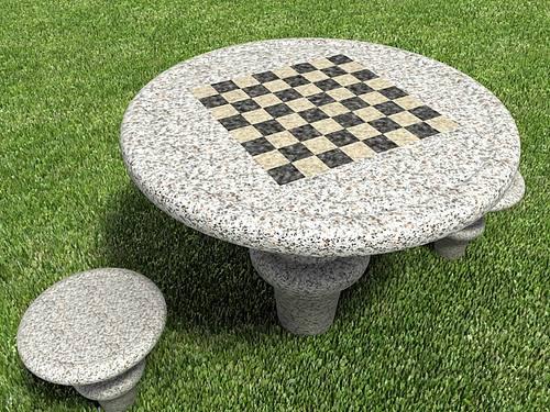 mesa jardim concreto : mesa jardim concreto:Modelos de Mesas para Jardim – Dicas na Internet