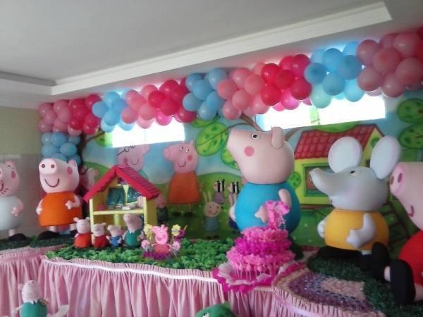 Artigos para festa peppa pig