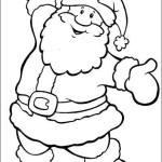 Desenhos para Imprimir e Colorir do Natal