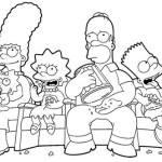 Desenhos para Imprimir e Colorir dos Simpsons