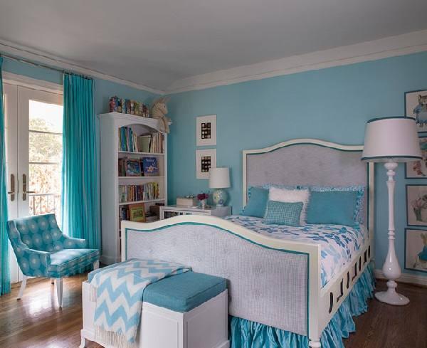 quarto de casal decorado na cor azul 6 Dicas na Internet ~ Quarto Rosa E Azul