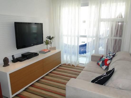 8 dicas para decorar salas pequenas for Salas modernas pequenas para apartamentos