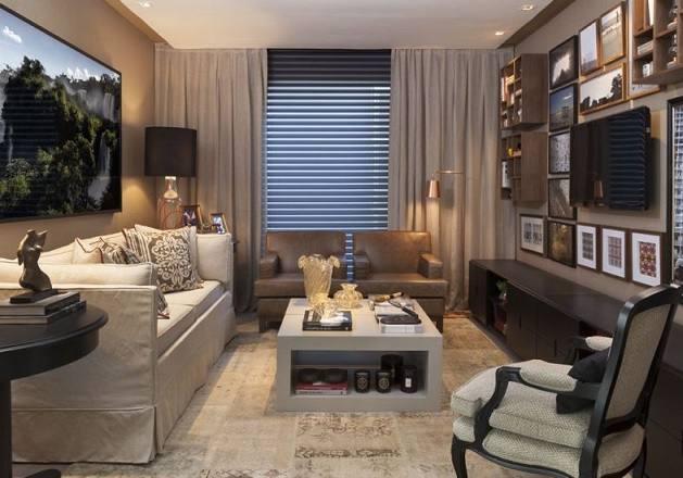 Salas pequenas decoradas car interior design for Imagenes de salas decoradas