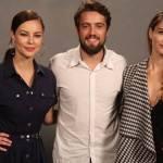 """Alinne Moraes, Rafael Cardoso e Paolla Oliveira Apresentam a Novela """"Além do Tempo"""""""