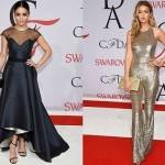 Looks Usados pelas Famosas no CFDA Fashion Awards 2015 – Fotos