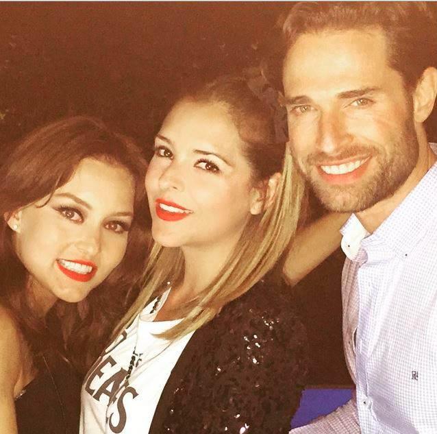Sebastián Rulli e Angelique Boyer Festejam Aniversário com Maite ...