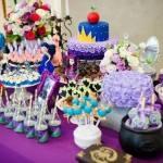 Decoração de festa de aniversário tema 'Descendentes'