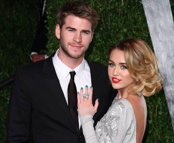Miley-Cyrus-e-Liam-Hemsworth-noivos