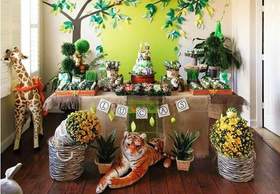 decoracao festa safari:Quando o assunto é decoração de aniversário infantil , um dos