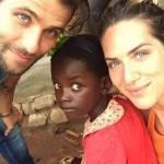 Bruno Gagliasso e Giovanna Ewbank pensam em adotar criança órfã da África
