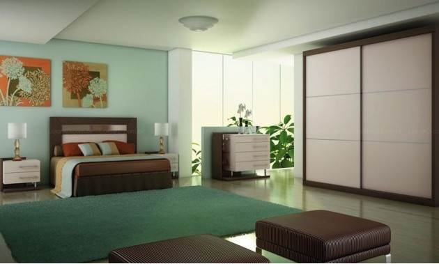 quartos decorados com cor verde 5 Dicas na Internet ~ Verde Fiori Quarto