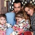 Aarón Díaz, o Mariano da novela 'Teresa', está na Itália com toda a sua família