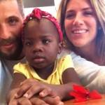 Giovanna Ewbank e Bruno Gagliasso falam da adoção de criança da África