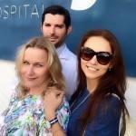 Angelique Boyer é hospitalizada durante férias na Espanha