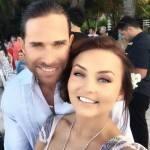 Angelique Boyer e Sabastián Rulli Curtem Casamento de Amigos