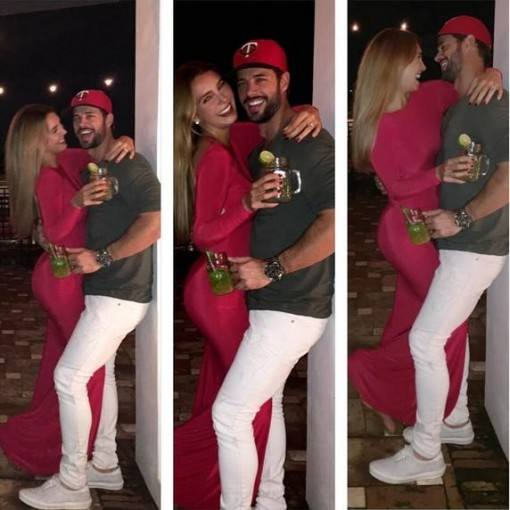 william-levy-e-elizabeth-gutierrez-recebem-2017-abracados