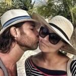 Sebastián Rulli Curte Férias com Angelique Boyer e Família em Paraíso no México